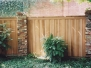 Custom Fence with Brick Columns (Dallas, TX)